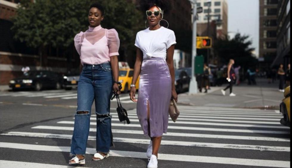 El lavanda fue el tono propuesto para reemplazar al millennial pink en los desfiles Spring-Summer 2018, como el de Max Mara. (FOTOS: Getty Images)