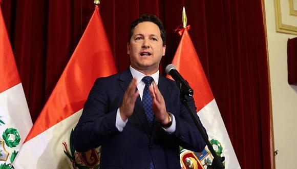El presidente del Congreso, Daniel Salaverry, había cuestionado la decisión de la Comisión Permanente de rechazar la destitución de Pedro Chávarry. (Foto: Congreso)