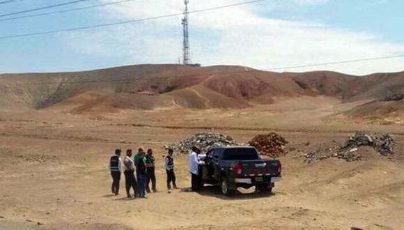Según fuentes policiales, el robo ocurrió a las 3:00 p.m. de ayer. Los maleantes estaban equipados con armas de fuego y redujeron a los empleados que se desplazaban en una camioneta de placa de rodaje AJW-838 desde Huamachuco (La Libertad) con destino a la ciudad de Lima (Foto: Elsita Pereda)