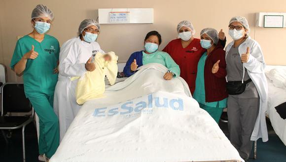 Essalud indicó entre enero y marzo nacieron 14.384 bebes en sus distintos establecimientos de todo el país. En el mismo periodo de 2020 nacieron 23.637 bebes. (Foto: Essalud)