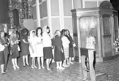 Semana Santa en el pasado: los devotos en busca de perdón en la Lima de 1966