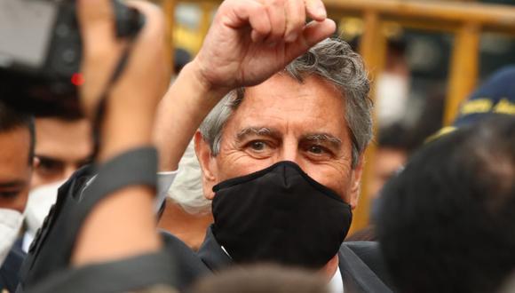 Francisco Sagasti juramentará este martes como presidente de la República. (Foto: Alessandro Currarino / @photo.gec)