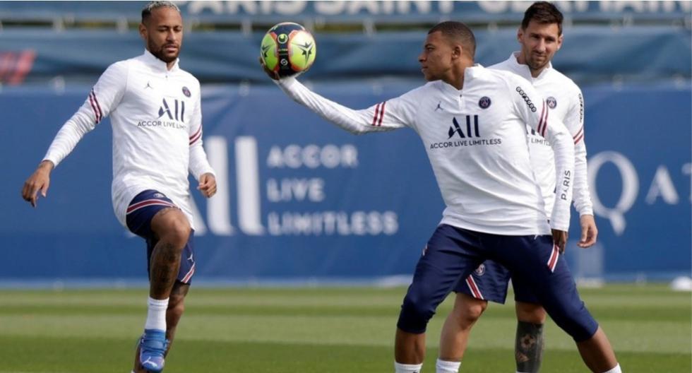 Messi, Neymar y Mbappé aún no han podido jugar juntos hasta ahora. (Foto: PSG)