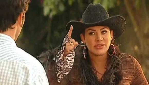 """Lady Noriega, la actriz de """"Pasión de Gavilanes"""" se encuentra luchando contra el COVID 19 (Foto: Telemundo)"""