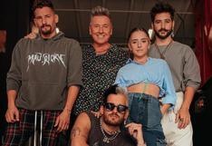 Ricardo Montaner alista los detalles de su concierto al lado de sus hijos