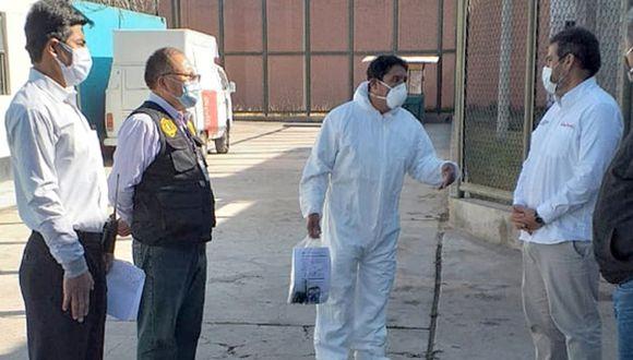 Ayacucho: entregaron equipos de protección personal y útiles de aseo en el penal regional (Foto difusión).