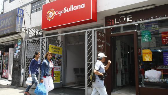 Caja Sullana indicó que ya venía realizando el refinanciamiento de créditos a clientes con problemas de pago incluso antes de la emergencia suscitada por el COVID-19. (Foto: GEC)