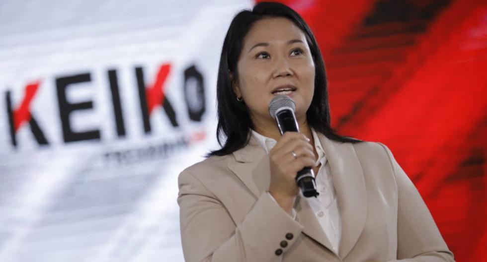Keiko Fujimori afronta un pedido fiscal para que se revoque la orden de comparecencia con restricciones y se dicte prisión preventiva (Foto: Joel Alonzo/ @photo.gec)