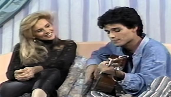 Susan León y Pedro Suárez Vértiz son amigos desde niños.  (Foto: Archivo de TV)