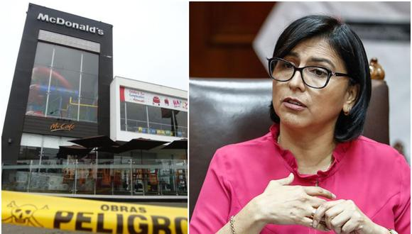 Local de McDonald's fue clausurado por la Municipalidad de Pueblo Libre. (Elaboración: El Comercio)