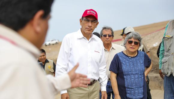 Presidente Vizcarra señaló que respalda el trabajo del Ministerio Público y el Poder Judicial. (Foto: Presidencia de la República)