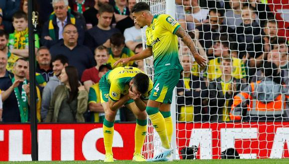 Liverpool vs. Norwich: recién ascendido anotó el primer gol de la Premier League en su propia puerta | VIDEO. (Foto: AFP)
