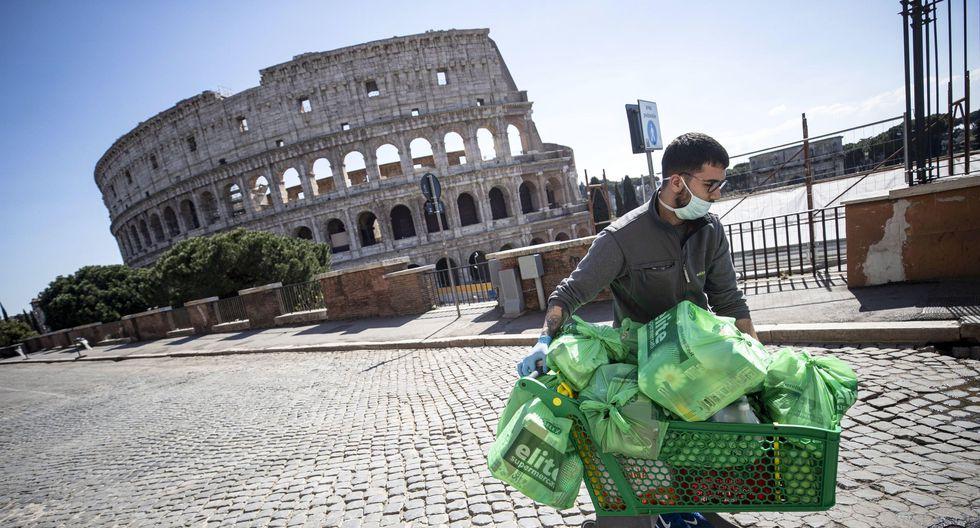 Roma también está en cuarentena. (EFE/EPA/MASSIMO PERCOSSI).