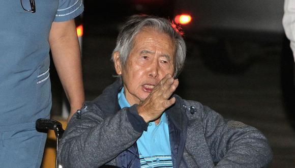 El ex presidente Alberto Fujimori fue indultado por razones humanitarias el 24 de diciembre del 2017. (Alessandro Currarino/ Archivo El Comercio)