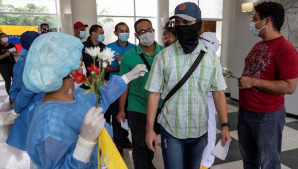 Coronavirus en Venezuela | Últimas noticias | Último minuto: reporte de infectados y muertos hoy, domingo 27 de setiembre del 2020 |  (Foto: EFE/RAYNER PEÑA R).