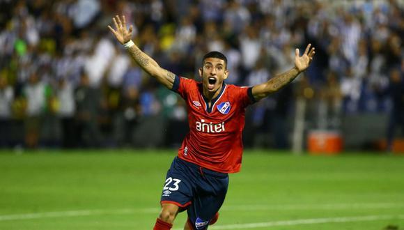 Santiago Rodríguez anotó en Matute en el Alianza Lima vs. Nacional. (Foto: Giancarlo Ávila / GEC)