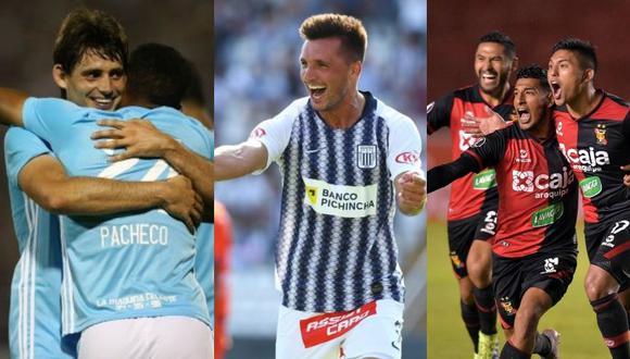 Los clubes peruanos hacen su debut en la Copa Libertadores esta semana. ¿Cuál obtendrá mejores resultados?. (Foto: GEC / EFE)
