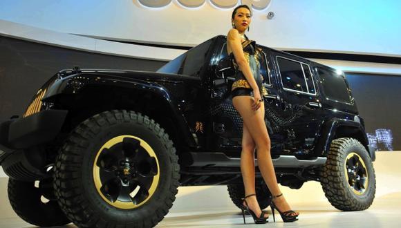 No habrá modelos en el Auto Show de Shangái 2015