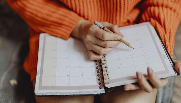 Muchas personas marcan los feriados en su agenda personal para realizar actividades con sus familiares, amigos o pareja | Foto: Pixabay / Referencial