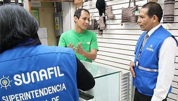 Sunafil inició fiscalización de ópticas en el Centro de Lima