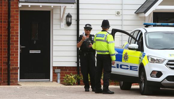 Policía británica dice que el Novichok estaba en un bote en casa de víctima. (Foto: AFP/Geoff Caddick)