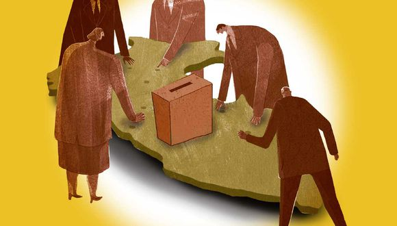 2,7 millones de votos nulos hubo en las elecciones, según los resultados de la ONPE al 91,225% de actas contabilizadas. (Composición: El Comercio)