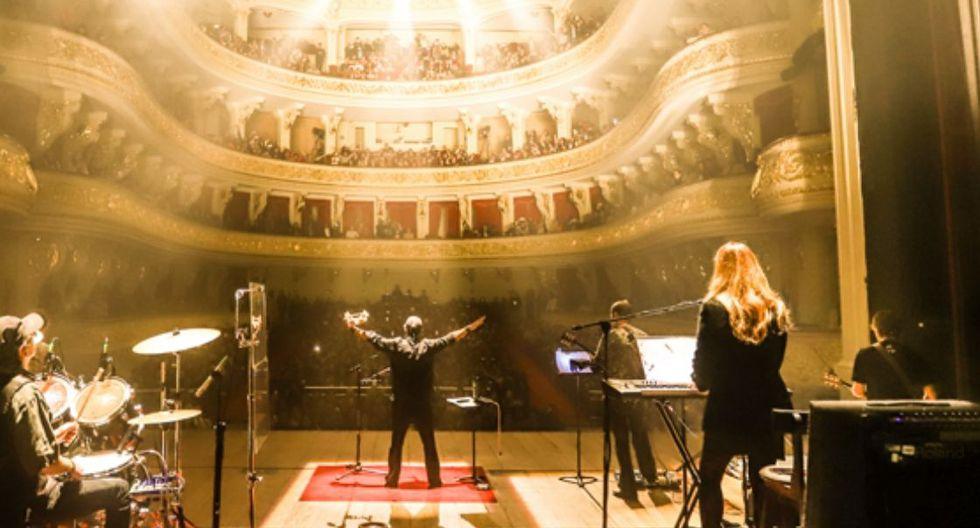 Mar de Copas ofreció un concierto la noche del último jueves en el Teatro Municipal. (Foto: Mar de Copas)