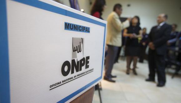 La ONPE asegura que el material electoral llegará a tiempo