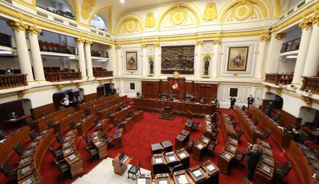 El pleno derogó la Ley de Promoción Agraria. (Foto: Congreso)