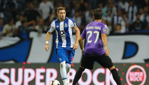 Héctor Herrera marcó su primer gol en la temporada 2018/19. El mexicano ha convertido en las seis temporadas que ha disputado con la camiseta del Porto. Mira el tanto del volante. (Foto: Twitter)