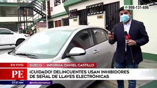 Robo de vehículos: delincuentes usan inhibidores de señal de llaves electrónicas