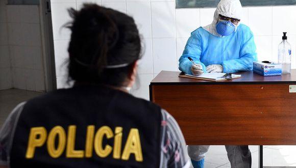 El Mininter aseguró que la toma de pruebas en las comisarías será permanente mientras dure la pandemia. (Foto: Mininter)