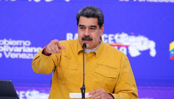 Nicolás Maduro durante una conferencia de prensa en Caracas (Venezuela). (Foto: EFE/ Prensa Miraflores).