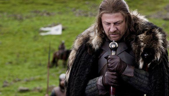 """Sean Bean como Ned Stark en """"Game of Thrones"""" (2011), personaje que es decapitado al final de la primera temporada de la serie.  (Foto: AP/HBO)"""
