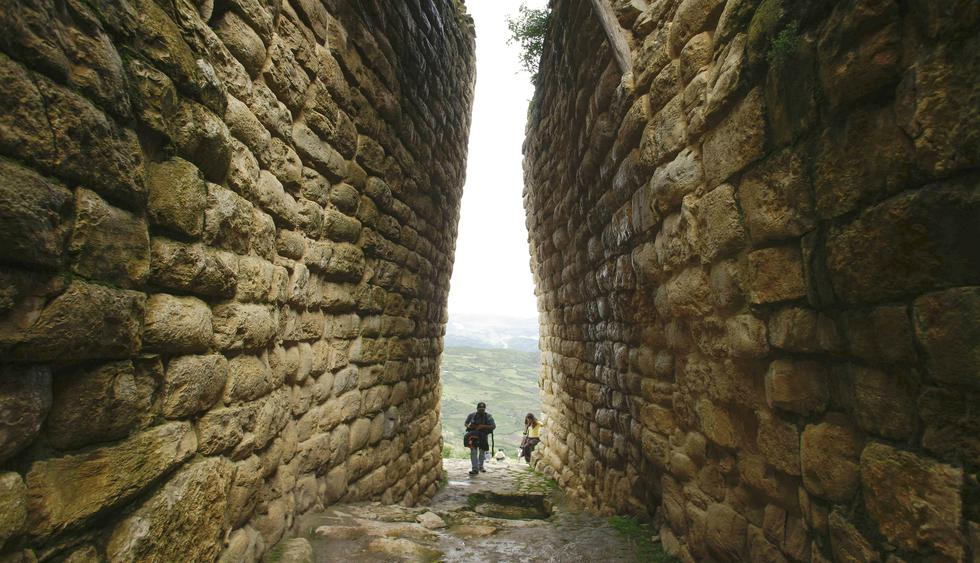 Ingresarás a la fortaleza de Kuélap por tres callejones estrechos y amurallados. (Foto: Reuters).