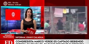 Congresista Marco Verde es captado en reunión bebiendo licor en Oxapampa