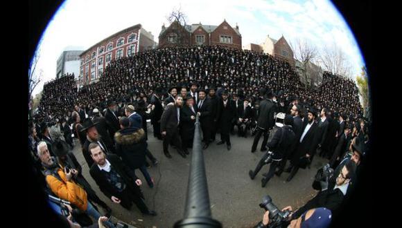 Dos mil rabinos protagonizan el mayor 'selfie' del mundo