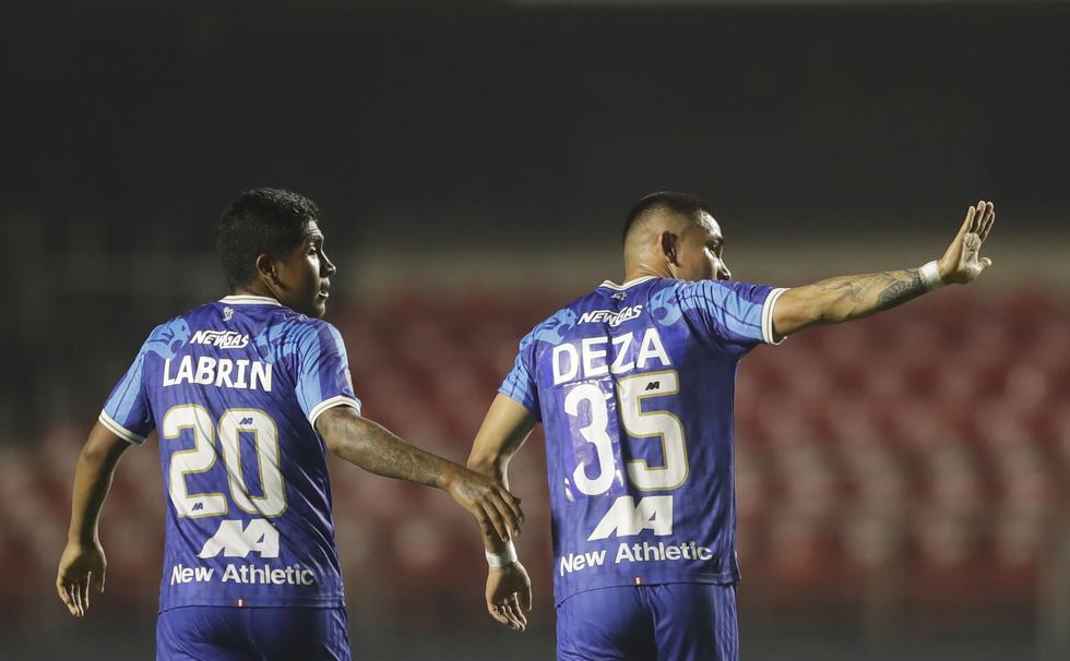 Jean Deza convirtió un gran gol frente a Sao Paulo por Copa Libertadores