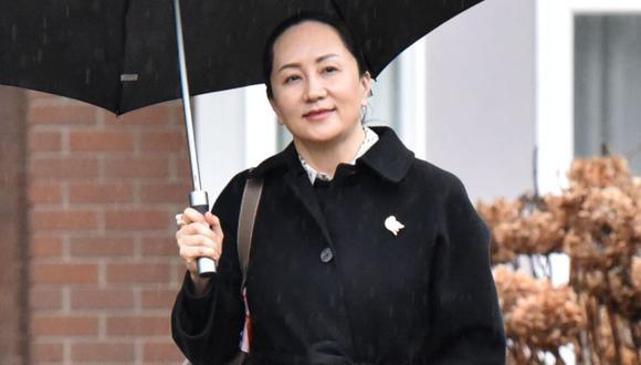 El caso de Meng Wanzhou se ha vuelto un punto de tensión para las relaciones de China con Canadá y con Estados Unidos. (Foto: Don MacKinnon / AFP)