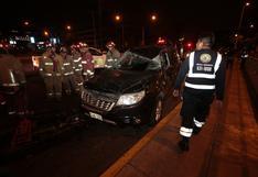 San Borja: un herido deja choque de dos vehículos entre las avenidas Guardia Civil y Javier Prado | FOTOS