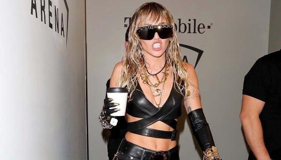 Miley Cyrus confiesa que ha estado sobria durante los últimos seis meses. (Foto: Instagram)