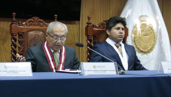 Páucar expresó además que se garantizará la reserva de las investigaciones y la plena independencia de las decisiones. (Foto: GEC)