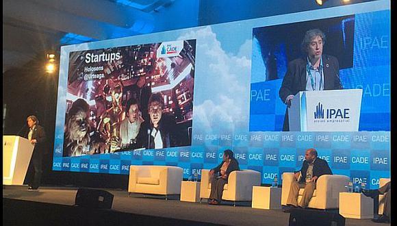 """Urteaga: """"El Concytec y Produce trabajan bien con las startups"""""""