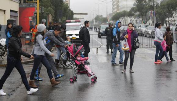En Lima Oeste, la temperatura máxima llegaría a 19°C, mientras que la mínima sería de 14°C.  (Foto: GEC)