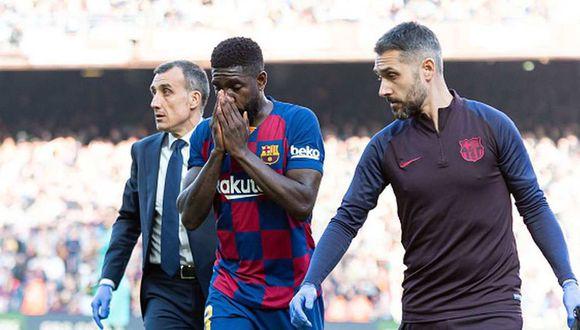 Fútbol mundial: Barcelona: Umtiti se lesionó y no estará contra ...