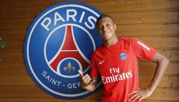 Kylian Mbappé, ariete francés de 18 años que milita en el PSG, superó a grandes estrellas como Gabriel Jesus y Ousmane Dembélé. (Foto: AFP)