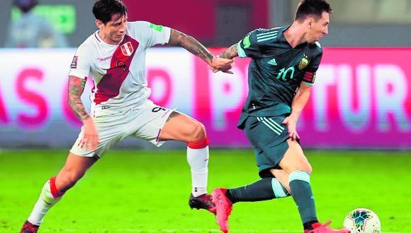 Messi y Lapadula son los goleadores de la Copa América.