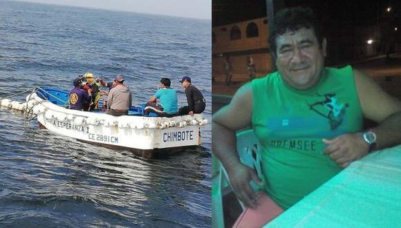 Áncash: buscan a pescador desaparecido tras naufragio de nave en Chimbote