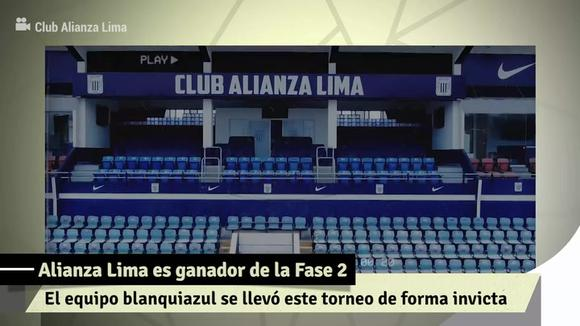Alianza Lima in the final: the key games of the 'blue and white' team