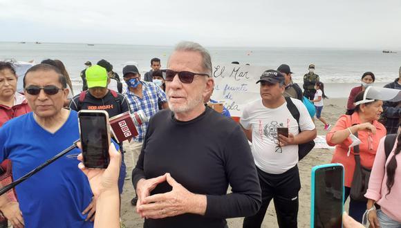 Belmont se presentó en la playa Agua Dulce. (Foto: Lino Chipana / GEC)